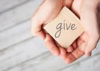 In What Ways Can You Give?