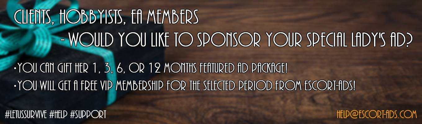 Sponsor your Special Lady's ad